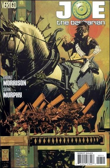 Joe the Barbarian 7-A by Vertigo