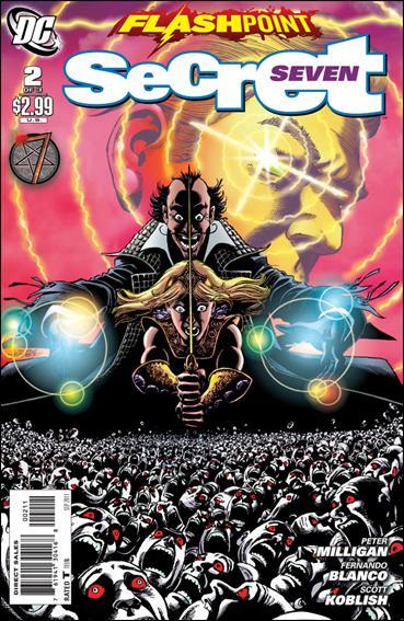 Flashpoint: Secret Seven 2-A by DC
