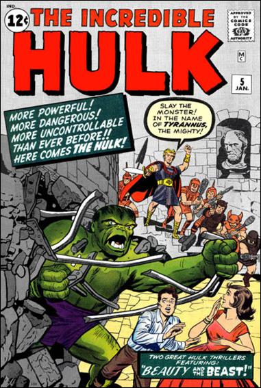 Incredible Hulk (1962) 5-A by Marvel