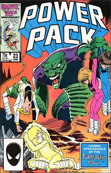 Power Pack (1984) 23-A by Marvel