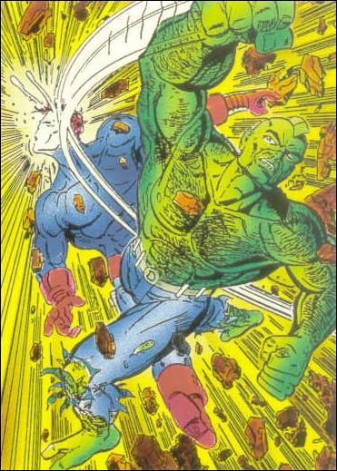 Savage Dragon (Base Set) 4-A by Comic Images