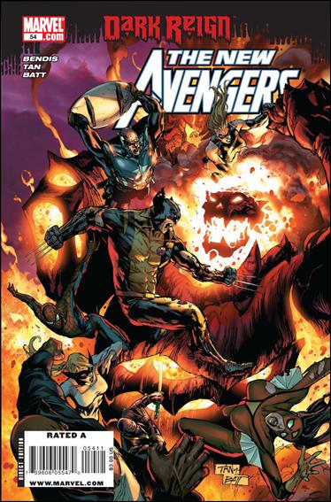 New Avengers (2005) 54-A by Marvel