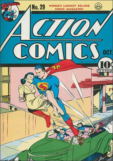 Action Comics (1938) 29-A by DC