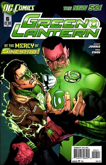 Green Lantern (2011) 6-A by DC