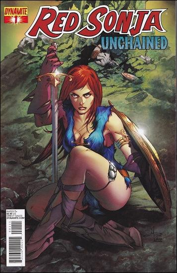 Red Sonja: Unchained 1-A by Dynamite Entertainment