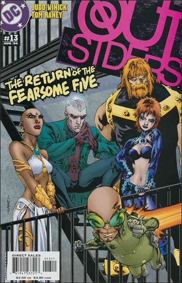 Outsiders (2003) 13-A by DC
