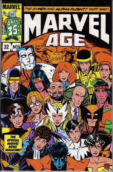 Marvel Age 32-A by Marvel