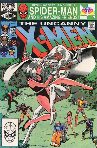 Uncanny X-Men (1981) 152-A by Marvel