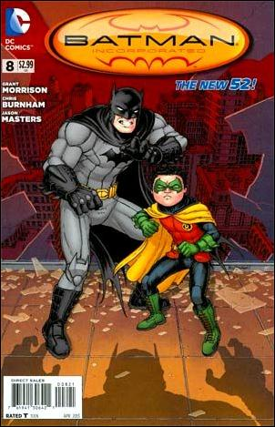 Batman Incorporated 8-D by DC