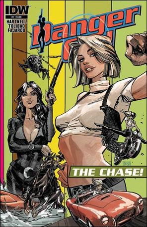 Danger Girl: The Chase 1-A