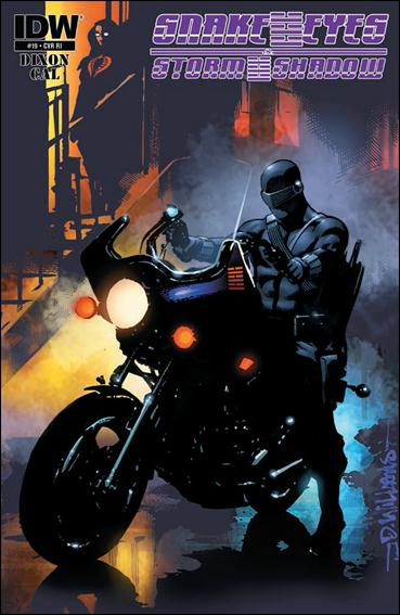 Snake Eyes and Storm Shadow 19-B by IDW