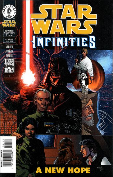 Star Wars: Infinities - A New Hope 1-A by Dark Horse