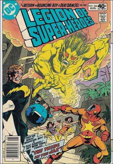 Legion of Super-Heroes (1980) 266-A by DC