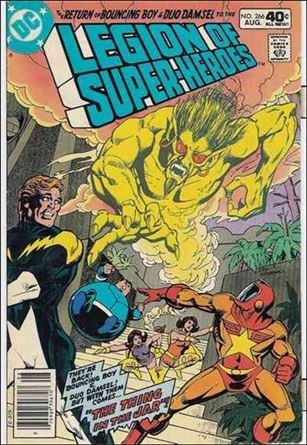 Legion of Super-Heroes (1980) 266-A