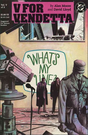 V for Vendetta 5-A by DC