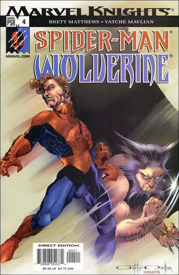 Spider-Man & Wolverine 4-A by Marvel
