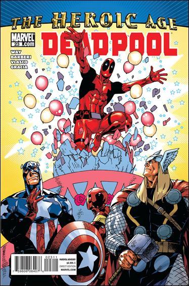 Deadpool (2008) 23-A by Marvel