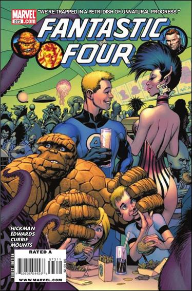 Fantastic Four (1961) 573-A by Marvel