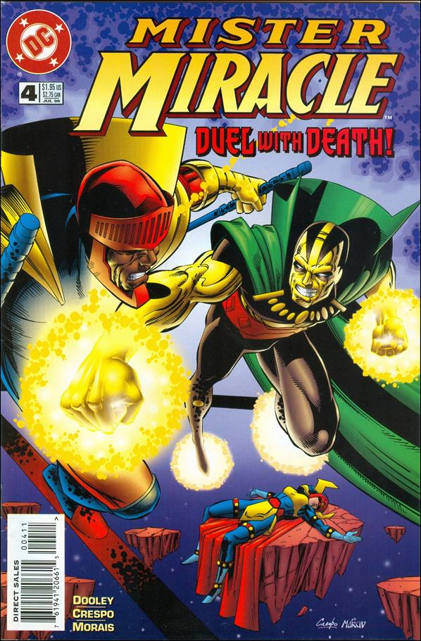 Mister Miracle (1996) 4-A by DC