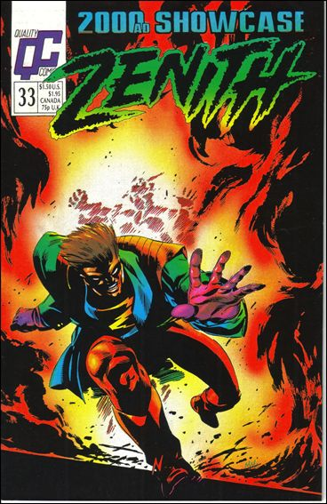 2000 A.D. Showcase (1988) 33-A by Quality Comics