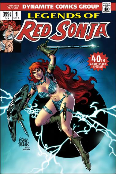 Legends of Red Sonja 1-B by Dynamite Entertainment