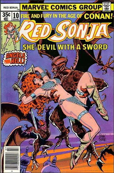 Red Sonja (1977) 10-A by Marvel