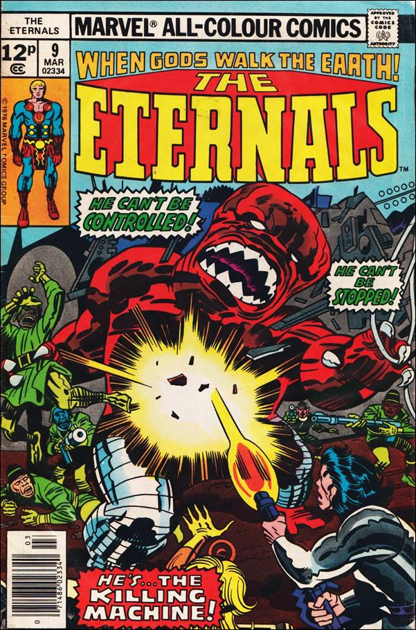 Eternals (1976) 9-B by Marvel