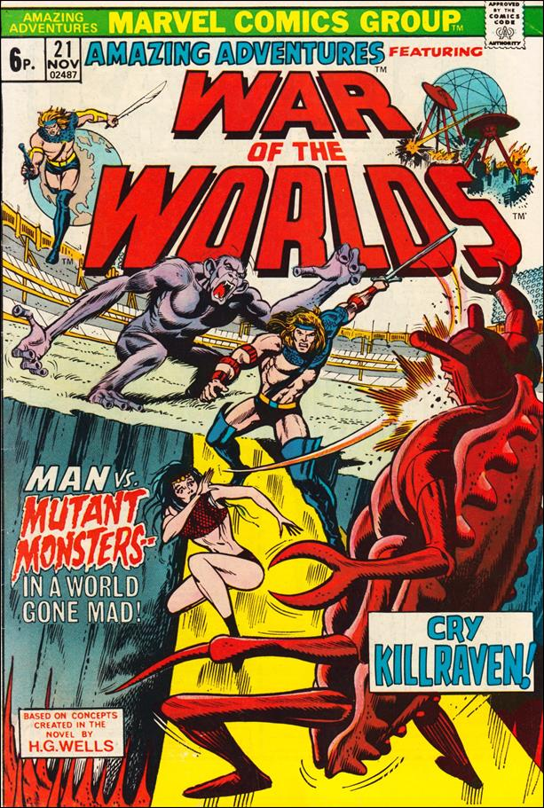 Amazing Adventures (1970) 21-B by Marvel