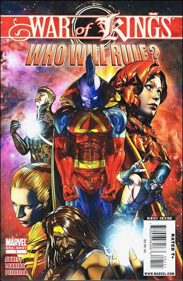 War of Kings: Who Will Rule? 1-A by Marvel