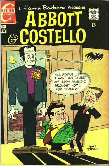 Abbott and Costello (1968) 4-A by Charlton