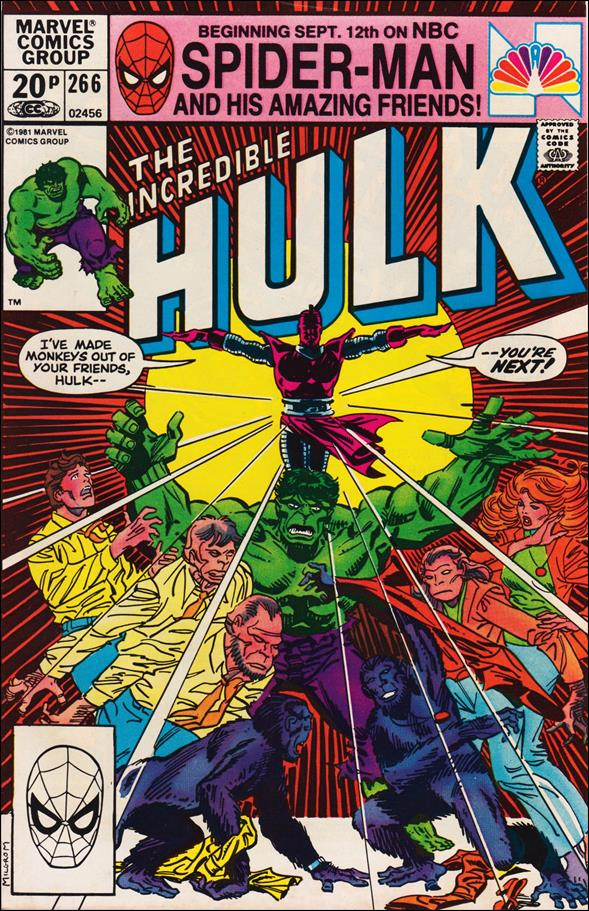 Incredible Hulk (1968) 266-B by Marvel
