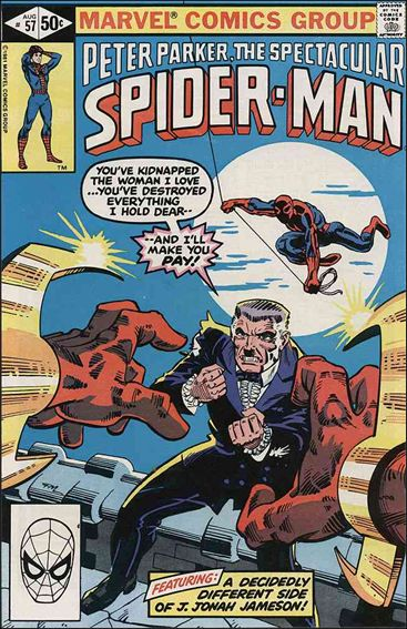 Spectacular Spider-Man (1976) 57-A by Marvel