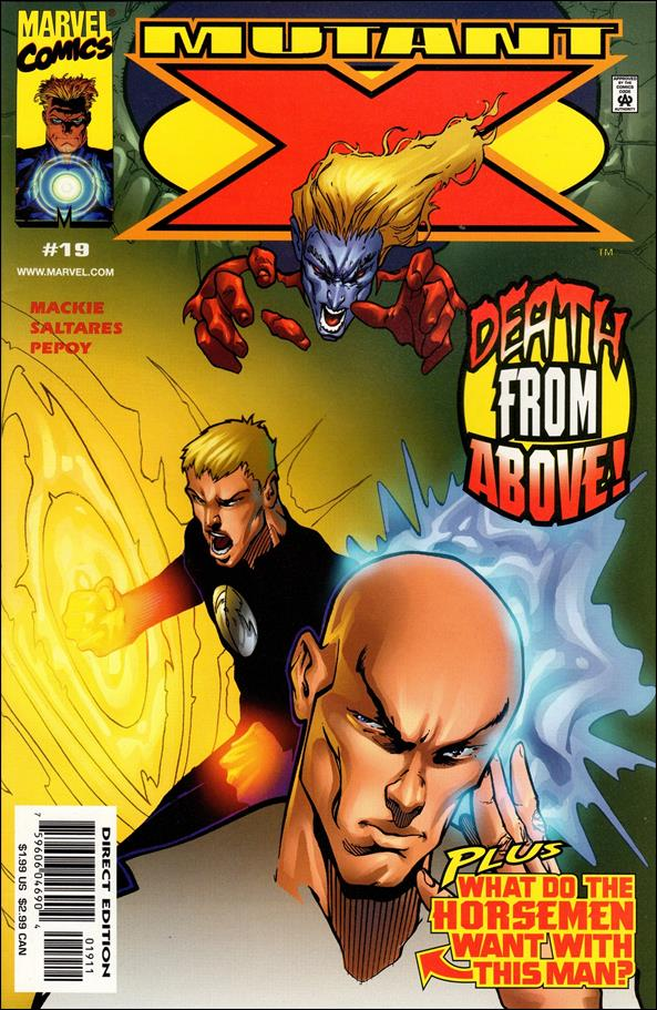 Mutant X 19-A by Marvel