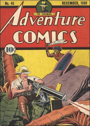 Adventure Comics (1938) 45-A by DC