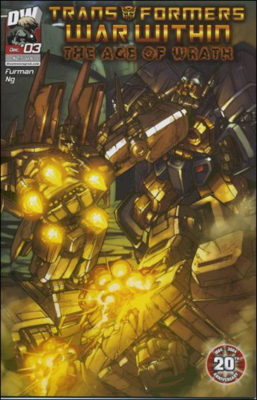 Transformers: War Within: The Age of Wrath 3-A by Dreamwave