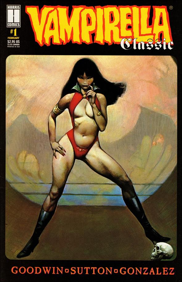 Vampirella Classic 1-A by Harris