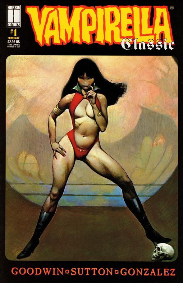 Vampirella Classic 1-A by Harris