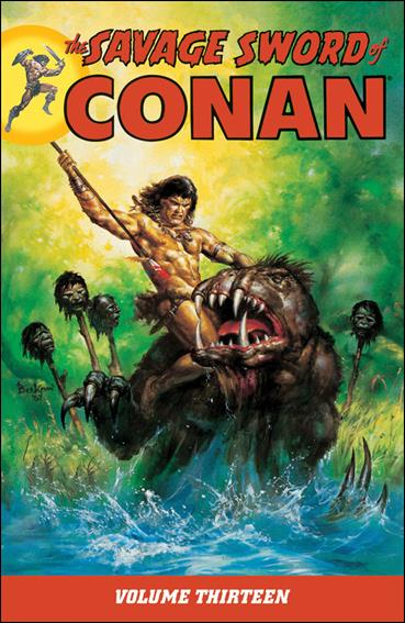 Savage Sword of Conan 13-A by Dark Horse