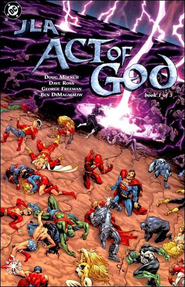 JLA: Act of God 1-A by DC