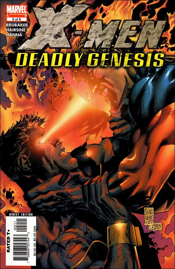 X-Men: Deadly Genesis 2-A by Marvel
