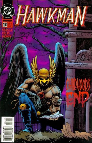 Hawkman (1993) 18-A by DC