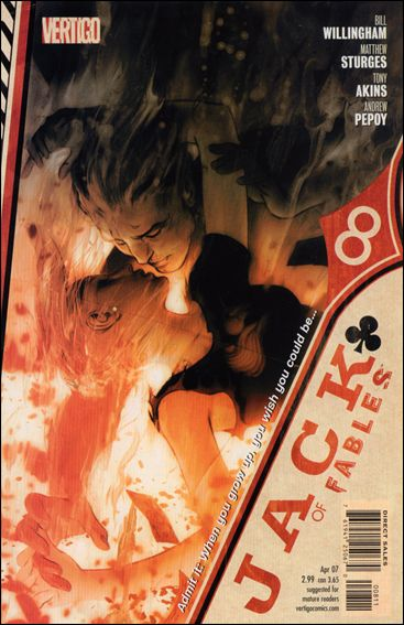 Jack of Fables 8-A by Vertigo