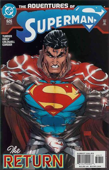 Adventures of Superman (1987) 626-A by DC