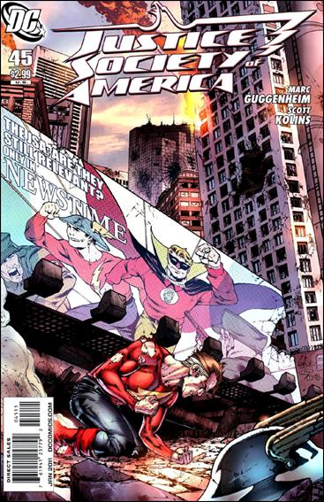 Justice Society of America (2007) 45-A by DC