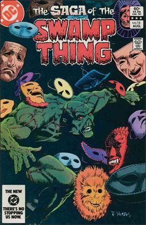 Saga of the Swamp Thing 16-A