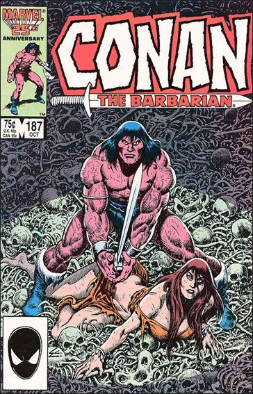 Conan the Barbarian (1970) 187-A by Marvel