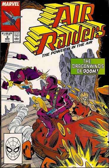 Air Raiders 3-A by Marvel