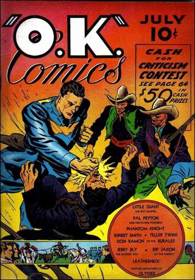 O.K. Comics (1940) 1-A by Worth Publishing Co.