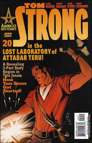 Tom Strong 20-A by America's Best Comics