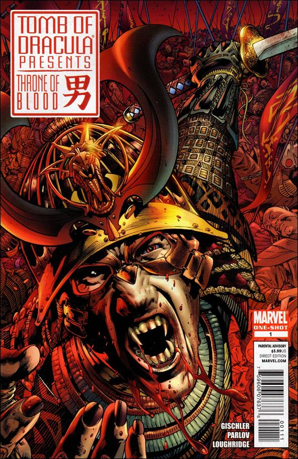 Tomb of Dracula Presents: Throne of Blood 1-A by Marvel
